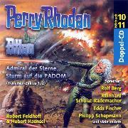 Cover-Bild zu Atlan Traversan-Zyklus 01/02: Admiral der Sterne / Sturm auf die PADOM (Audio Download) von Feldhoff, Robert