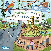 Cover-Bild zu Hör mal: Wimmelbuch: Im Zoo von Hofmann, Julia