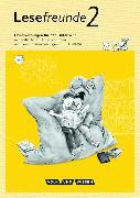 Cover-Bild zu Lesefreunde 2. Schuljahr. Neubearbeitung 2015. Handreichungen mit CD-ROM. östliche BL,BE von Gerber, Sabine