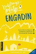 Cover-Bild zu Lieblingsplätze Engadin von Badraun, Daniel