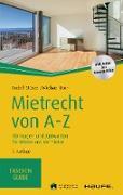 Cover-Bild zu Mietrecht von A-Z (eBook) von Stürzer, Rudolf