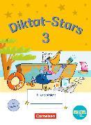 Cover-Bild zu Diktat-Stars 3. Schuljahr. TING-Ausgabe. Übungsheft mit Lösungen von Auer, Maria