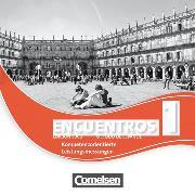 Cover-Bild zu Encuentros 1. Edición 3000. Kompetenzorientierte Leistungsmessung von Jaeger, Miriam