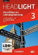 Cover-Bild zu English G Headlight 3. Allgemeine Ausgabe. Vorschläge zur Leistungsmessung von Blumenstock, Eugen