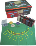 Cover-Bild zu Casino Style Poker Set. Texas Hold'em