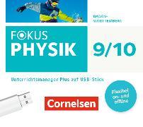 Cover-Bild zu Fokus Physik 9./10. Schuljahr. Neubearbeitung. Begleitmaterial auf USB-Stick. BW