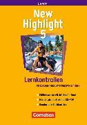 Cover-Bild zu New Highlight 5. Lernkontrollen. BY