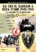 Cover-Bild zu Da Sidi el barrani a Beda Fomm 1940-1941 von Romeo Di Colloredo Mels, Pierluigi