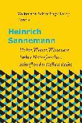 Cover-Bild zu Heinrich Sannemann (eBook) von von Schintling-Horny, Volker