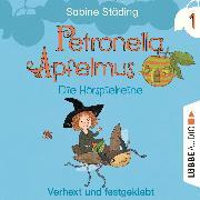 Cover-Bild zu Petronella Apfelmus - Die Hörspielreihe, Teil 1: Verhext und festgeklebt (Audio Download) von Städing, Sabine