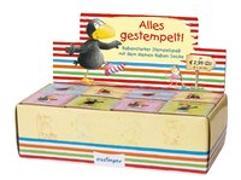 Cover-Bild zu Der kleine Rabe Socke: Alles gestempelt! von Rudolph, Annet (Illustr.)