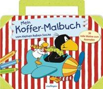 Cover-Bild zu Der kleine Rabe Socke: Mein Koffer-Malbuch vom kleinen Raben Socke VE 5 von Rudolph, Annet (Illustr.)
