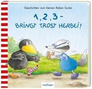 Cover-Bild zu Der kleine Rabe Socke: 1, 2, 3 - bringt Trost herbei! von Moost, Nele