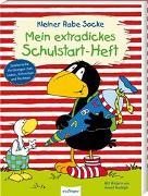 Cover-Bild zu Der kleine Rabe Socke: Mein extradickes Schulstart-Heft von Moost, Nele