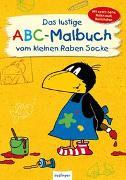 Cover-Bild zu Der kleine Rabe Socke: Das lustige ABC-Malbuch vom kleinen Raben Socke von Rudolph, Annet (Illustr.)