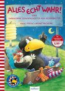 Cover-Bild zu Der kleine Rabe Socke: Alles echt wahr! oder Rabenstarke Schwindeleien für alle Gelegenheiten von Moost, Nele