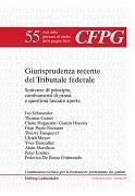 Cover-Bild zu Giurisprudenza recente del Tribunale federale von Bernasconi, Giorgio A. (Hrsg.)