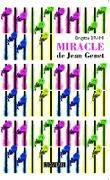 Cover-Bild zu Miracle de Jean Genet (eBook) von Brigitte Brami