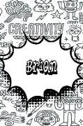 Cover-Bild zu Brian: Personalized Doodle Isometric Dot Paper Notebook Featuring 120 Pages 6x9 von Cole, Rob
