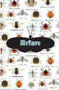 Cover-Bild zu Brian: Bug Insect Weekly Planer Book Notebook Journal Book 120 Pages 6x9 von Cole, Rob