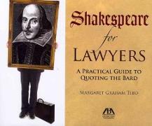 Cover-Bild zu Tebo, Margaret Graham: Shakespeare for Lawyers