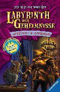Cover-Bild zu Labyrinth der Geheimnisse 03. Lauschangriff im Lehrerzimmer (eBook) von Bornstädt, Matthias