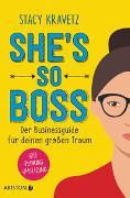 Cover-Bild zu She's so boss von Kravetz, Stacy