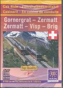 Cover-Bild zu DVD Fahrt 5 - Gornergrat-Zermatt/Zermatt-Visp-Brig 1070