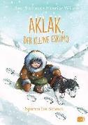 Cover-Bild zu Aklak, der kleine Eskimo - Spuren im Schnee von Stohner, Anu