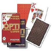 Cover-Bild zu Opti. Supreme Poker Cards / Cartes