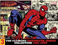Cover-Bild zu Lee, Stan: The Amazing Spider-Man: The Ultimate Newspaper Comics Collection Volume 3 (1981- 1982)