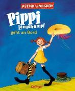 Cover-Bild zu Pippi Langstrumpf geht an Bord (farbig) von Lindgren, Astrid