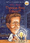 Cover-Bild zu Who Was Thomas Alva Edison? von Frith, Margaret