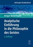 Cover-Bild zu Analytische Einführung in die Philosophie des Geistes von Beckermann, Ansgar