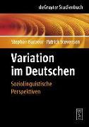 Cover-Bild zu Variation im Deutschen (eBook) von Stevenson, Patrick
