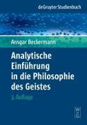 Cover-Bild zu Analytische Einführung in die Philosophie des Geistes (eBook) von Beckermann, Ansgar