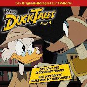 Cover-Bild zu Disney/DuckTales - Folge 4: Das Haus der Glücklichen Fügung / Das vertrackte Praktikum bei Mark Bürzel (Audio Download) von Arnold, Monty