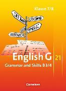Cover-Bild zu English G 21. Ausgabe B3/4. Grammar and Skills. 7/8. SJ. von Blombach, Joachim