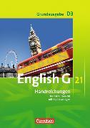 Cover-Bild zu English G 21. Grundausgabe D3. Handreichungen für den Unterricht von Brünker, Peter