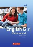 Cover-Bild zu English G 21. Ausgabe A6. Fördermaterial. Kopiervorlagen von Eberhard, Dominik