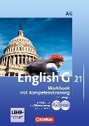 Cover-Bild zu English G 21. Ausgabe A6. Workbook mit Kompetenztraining und Lösungen von Seidl, Jennifer