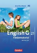 Cover-Bild zu English G 21. Abschlussband A5. Fördermaterial. Kopiervorlagen von Friedrich, Senta