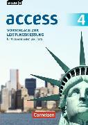 Cover-Bild zu English G Access 4. 8. Schuljahr. Allgemeine Ausgabe. Vorschläge zur Leistungsmessung. CD-Extra von Rademacher, Jörg (Hrsg.)