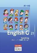 Cover-Bild zu English G 21. Ausgabe A1-A6. Speaking. Materialien für mündliche Prüfungen von Flach, Ulrike