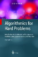 Cover-Bild zu Algorithmics for Hard Problems von Hromkovic, Juraj