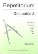 Cover-Bild zu Repetitorium Geometrie 3 von Schlotterbeck, Edi