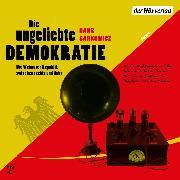 Cover-Bild zu Die ungeliebte Demokratie (Audio Download) von Sarkowicz, Hans