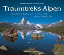 Cover-Bild zu Traumtreks Alpen von Kürschner, Iris