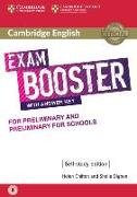 Cover-Bild zu Cambridge English Booster with Answer Key for Preliminary and Preliminary for Schools - Self-study Edition