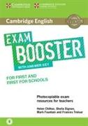 Cover-Bild zu Cambridge English Exam Booster for First and First for Schools von Chilton, Helen